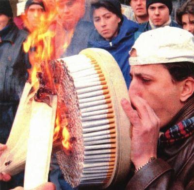 smoke wll smell bahahaha smoking